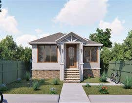 #41 pentru House Exterior Design / drawing - create a nicer entrance de către dodyardiansyah