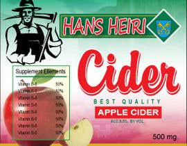 #2 para Create a label for a new apple cider beverage de skjahin