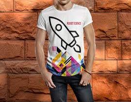 nº 65 pour Rocket Science Graphic T-Shirt Design par SajeebRohani