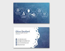 #218 for Design a business card with a technology and connection theme by patitbiswas