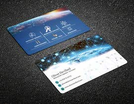 #187 for Design a business card with a technology and connection theme by yes321456