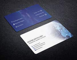 #215 for Design a business card with a technology and connection theme by yes321456