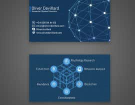 #211 for Design a business card with a technology and connection theme by rahnumarah476