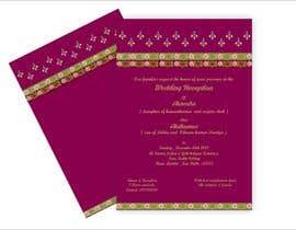 #16 per Hindu Wedding Invitation Card Design da narvekarnetra02