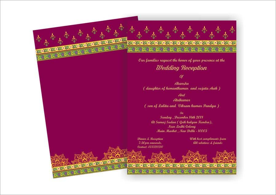 Entry 17 By Narvekarnetra02 For Hindu Wedding Invitation