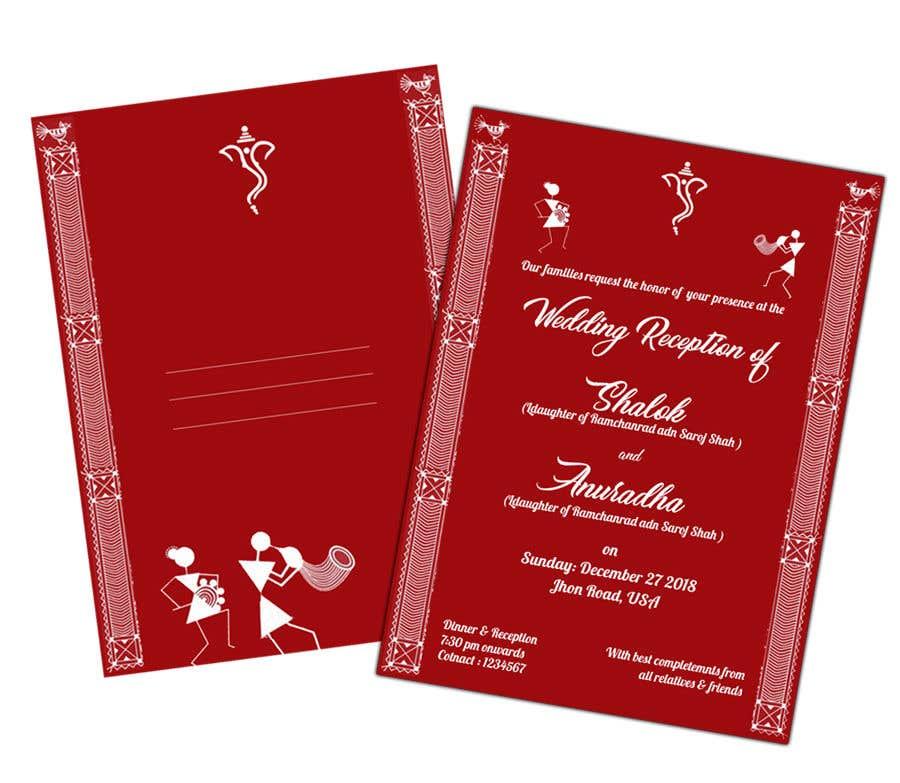 Entry 22 By Webdesignmilk For Hindu Wedding Invitation Card