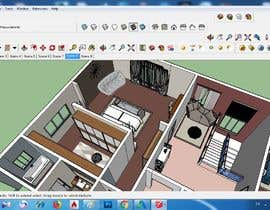 nedaaelislam44 tarafından to make residential interior design by sketch up için no 15