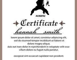 #10 untuk Shaolin Kung Fu Certificate oleh atiqurrahmanm25