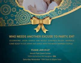 Nro 15 kilpailuun post wedding reception e-vite käyttäjältä Fariaakter01