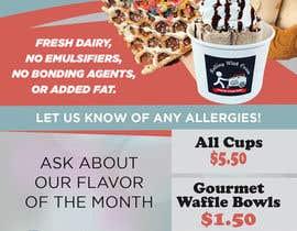 zinebzeno tarafından Ice Cream Shop Menu Design için no 23