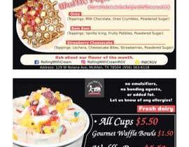 wanilala tarafından Ice Cream Shop Menu Design için no 16