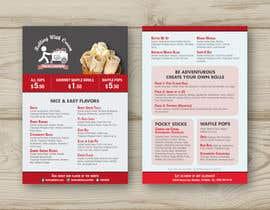 dileepa4321 tarafından Ice Cream Shop Menu Design için no 44