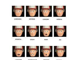 #16 para Facial expressions for a cute character de tarikchraiti