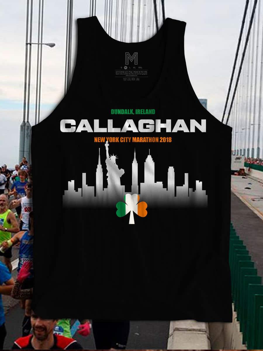 Proposition n°33 du concours New York City Marathon T-shirt logo design