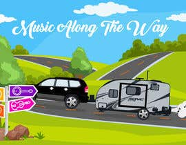 "nº 65 pour Design a logo for my website and blog ""Music Along the Way"" par istykristanto"