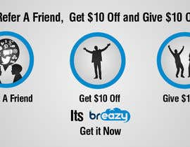 "Arselartwork님에 의한 ""Refer A Friend and Get $10, Give 10% Off""을(를) 위한 #5"