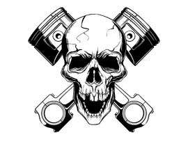 #21 for Illustrate a Skull with Pistons by yesdezign