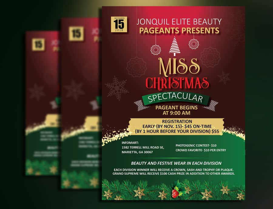 beauty pageant flyer needed
