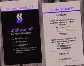 #55 cho Business Card Design for S.S. International bởi anirbanghosh99