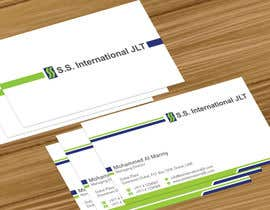 nº 4 pour Business Card Design for S.S. International par jobee