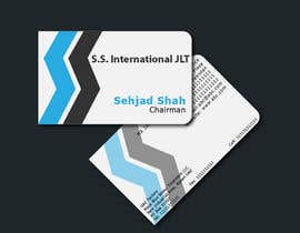 nº 59 pour Business Card Design for S.S. International par rashedhannan