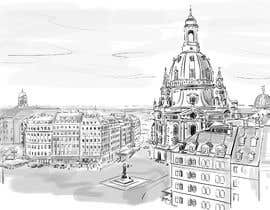 #12 para Draw an image about a city of Germany de artkrishna