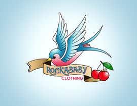 jcabrera83 tarafından Design a Logo for Rockabilly Clothing for children için no 27