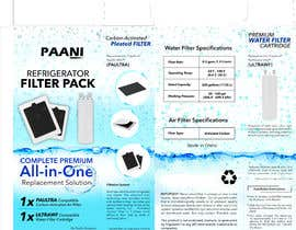 #3 for Box and Label Design - Water and Air Filter Pack af adnankhan54321