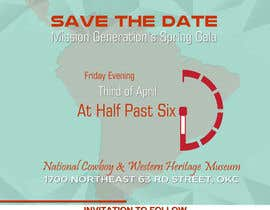 zskconcepts tarafından Design a Save the Date (Invitation) to a benefit Gala. için no 39