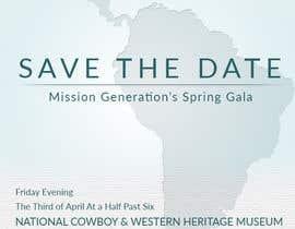 kurosawa tarafından Design a Save the Date (Invitation) to a benefit Gala. için no 8