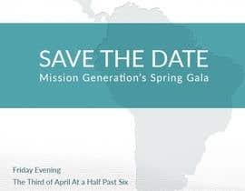 kurosawa tarafından Design a Save the Date (Invitation) to a benefit Gala. için no 10