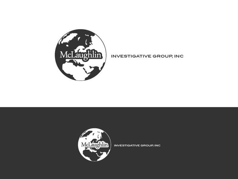 Конкурсная заявка №28 для Logo Design for www.McLaughlinPI.com