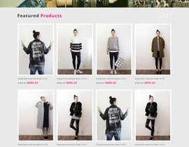 #36 para *** Mockup for Fashion Online Shop *** por negibheji