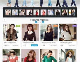 #29 para *** Mockup for Fashion Online Shop *** por MuhammedAbusharr