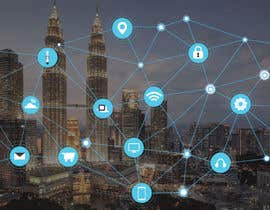 #32 cho Need IoT Internet of Things skyline created bởi htmlsafayet