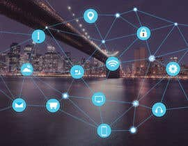 #35 cho Need IoT Internet of Things skyline created bởi htmlsafayet