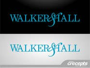 Graphic Design Contest Entry #314 for Logo Design for Walker and Hall