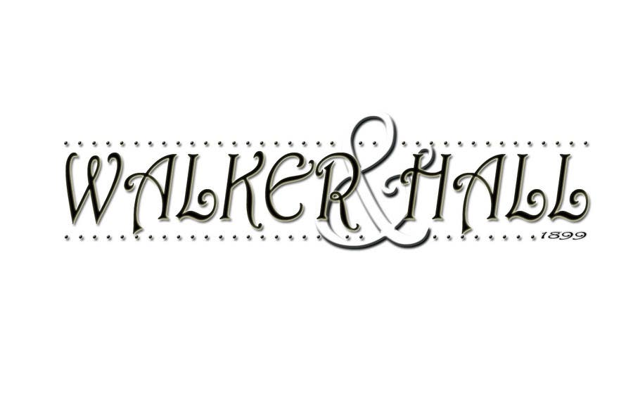 Contest Entry #500 for Logo Design for Walker and Hall