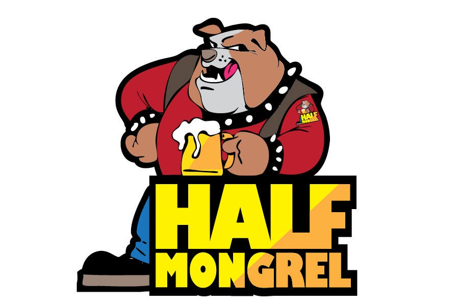 Contest Entry #18 for Logo Design for half mongrel