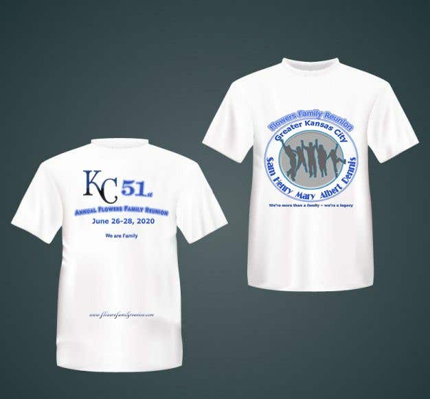 Konkurrenceindlæg #23 for Graphic Design for Family Reunion T-Shirt and Marketing Materials