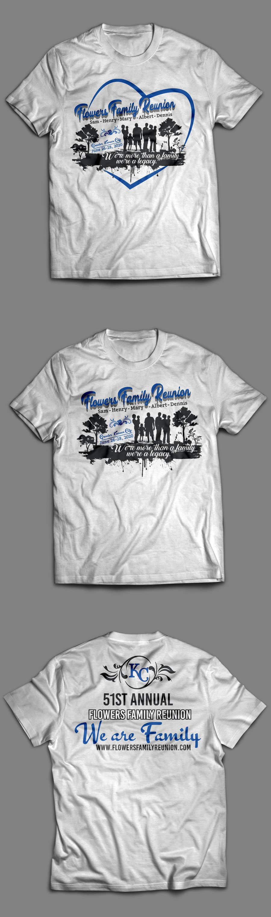 a882e1326 Contest Entry #33 for Graphic Design for Family Reunion T-Shirt and  Marketing Materials