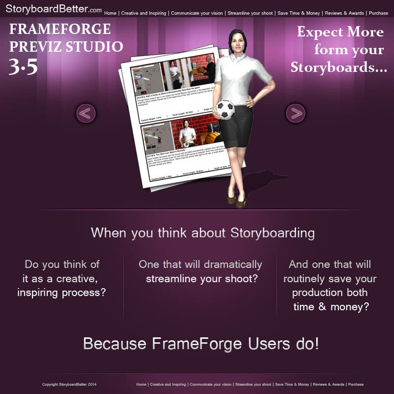 Entry #10 by Udovas for Update Mockup Design for Storyboarding ...