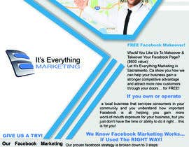 #2 para Design a Flyer, front and back por mdswapon2244