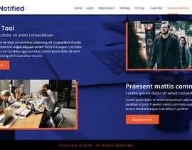 Nro 21 kilpailuun Create a product website mockup käyttäjältä webmastersud