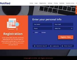 Nro 24 kilpailuun Create a product website mockup käyttäjältä webmastersud