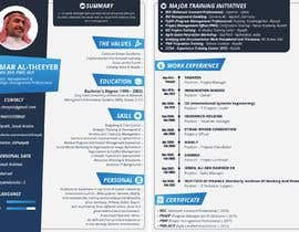 #49 for design a professional infogrpahic CV by ffank