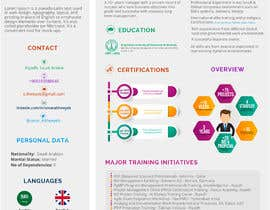 #37 for design a professional infogrpahic CV by FALL3N0005000