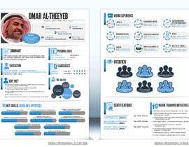 #31 for design a professional infogrpahic CV by FantasyZone