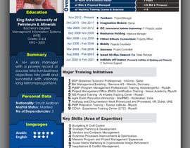 #15 for design a professional infogrpahic CV by zmsabet
