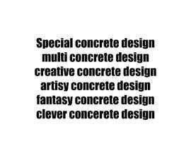 LogoG2 tarafından decorative concrete için no 22